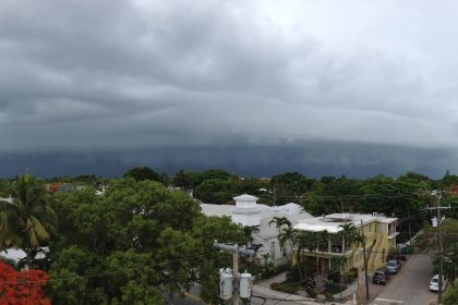 Image from the National Weather Service office in Key West on June 2, 2013. From Twitter: